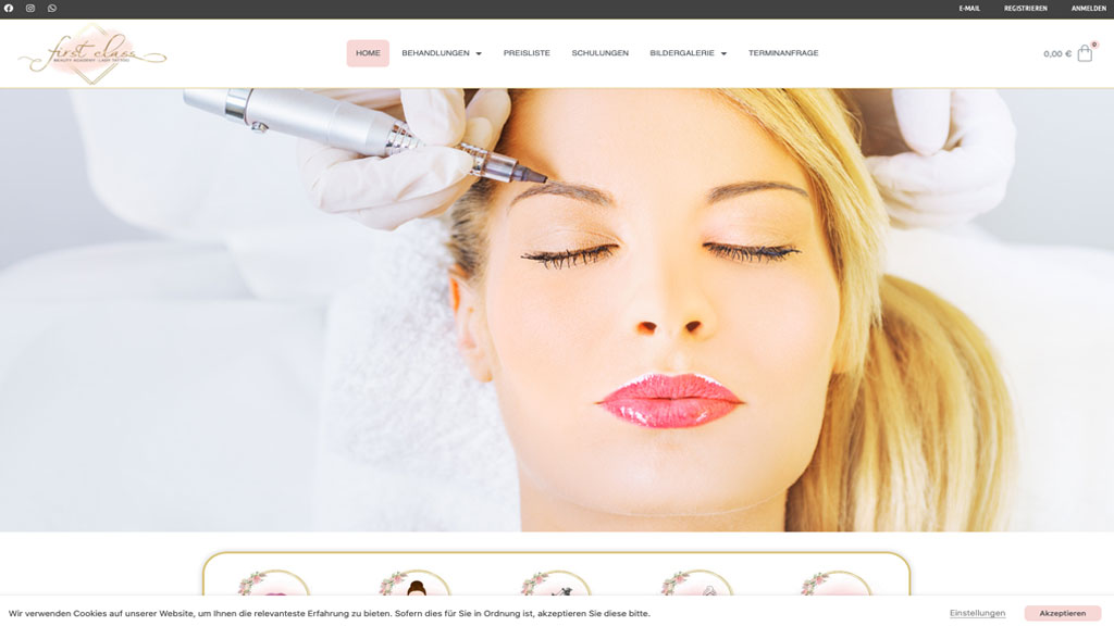 First Class Beauty Academy by Julia Herb